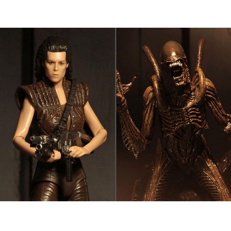NECA Alien Resurrection Series 14 Ripley & Warrior Set of 2 Action Figures