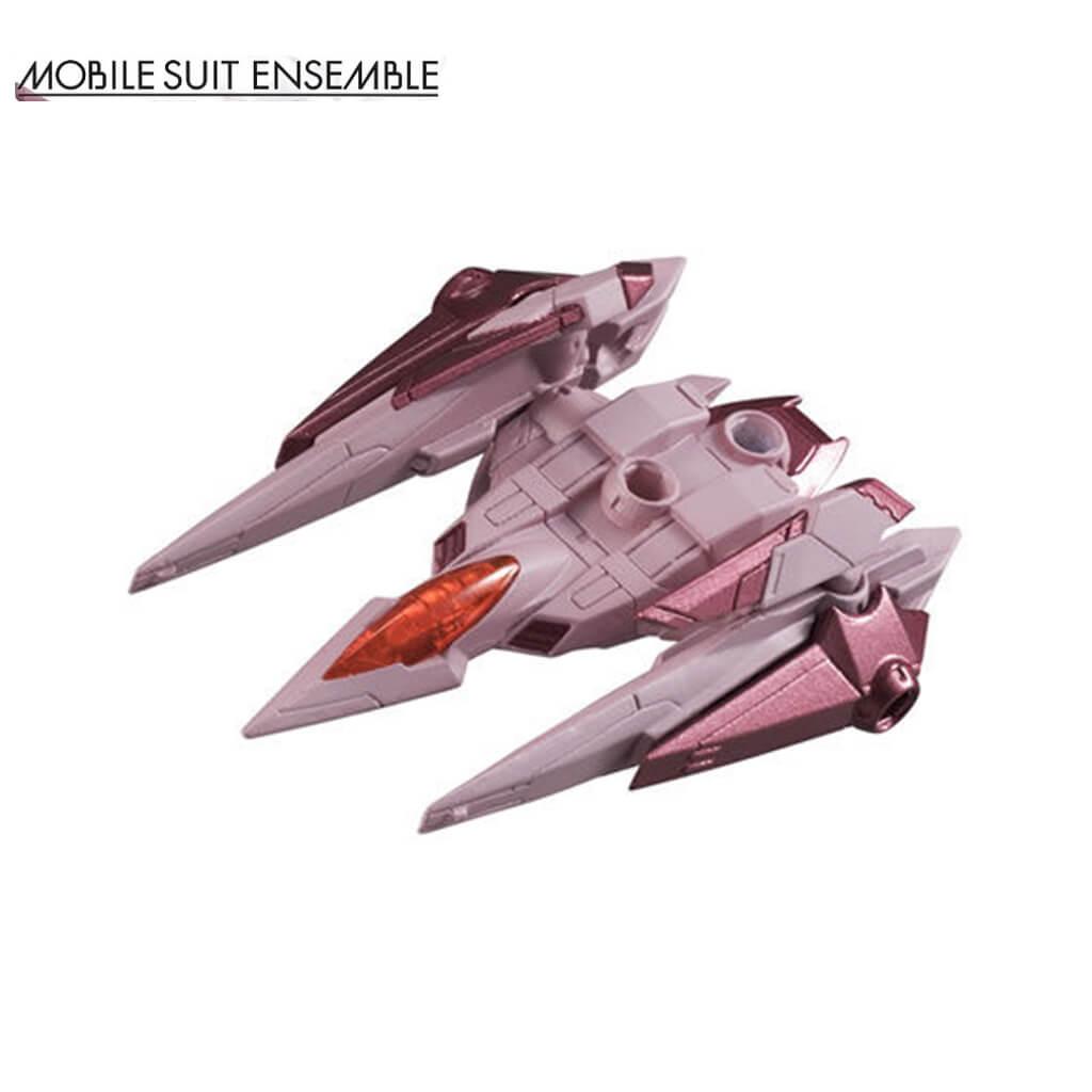 โมเดล Gundam ตัวเล็กจัดท่าได้ - Mobile Suit Ensemble 2.5 - 00 Raiser (Trans-am Color)