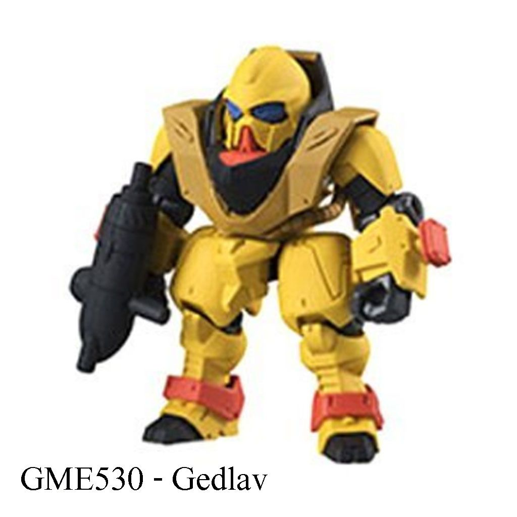 Gundam Mobile Suit Ensemble #05 - Gedlav