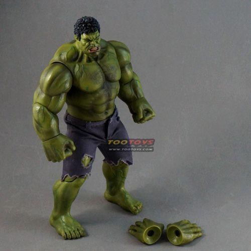 โมเดลยักษ์เขียวตัวใหญ่ 10 นิ้ว เปลี่ยนมือได้ - Hulk Model Action Figure