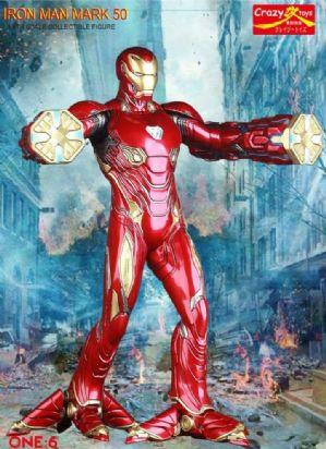 Ironman MK50 Crazy toys