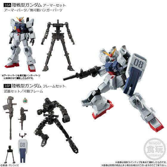 Mobile Suit Gundam G-Frame Vol.6 - RX79[G] Gundam Ground