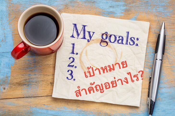 คุณมีเป้าหมายและแผนสำหรับวันนี้หรือยัง?