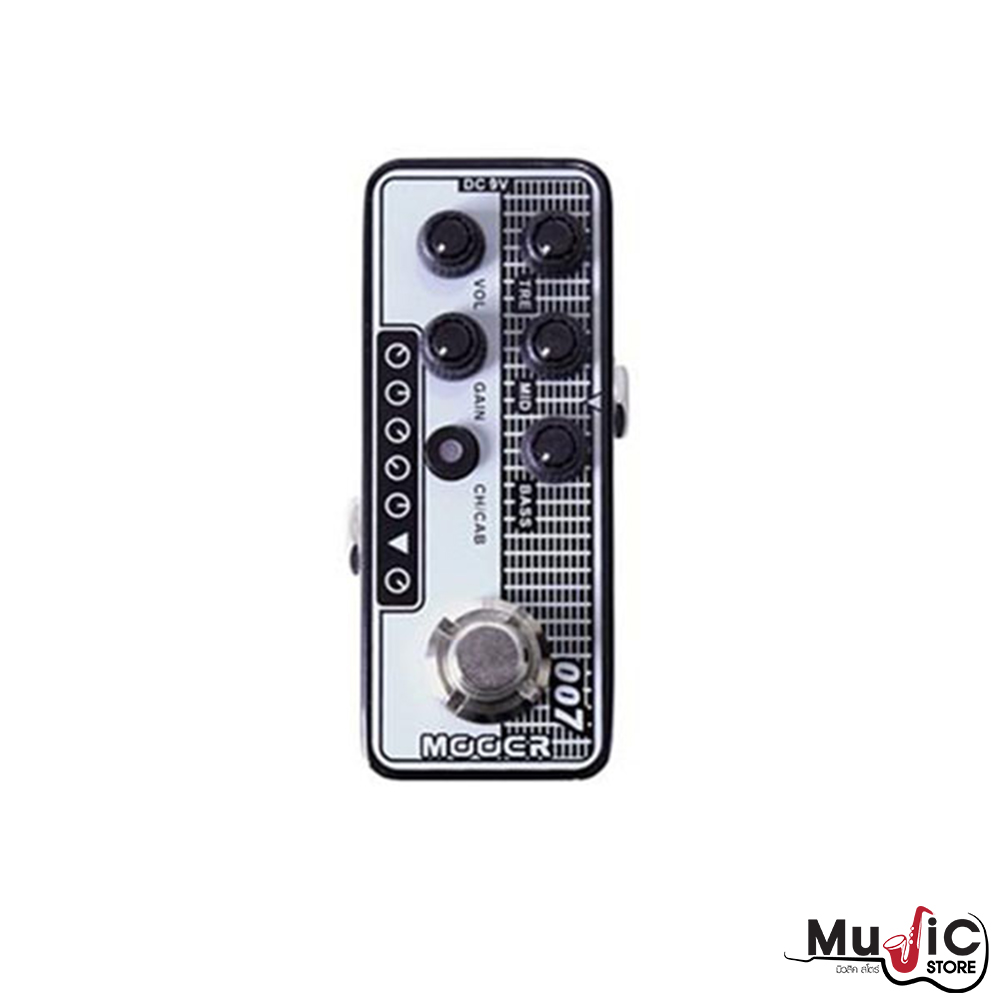 เอฟเฟคกีตาร์ Mooer Micro Preamp 007 Regal Tone – Tone King Falcon