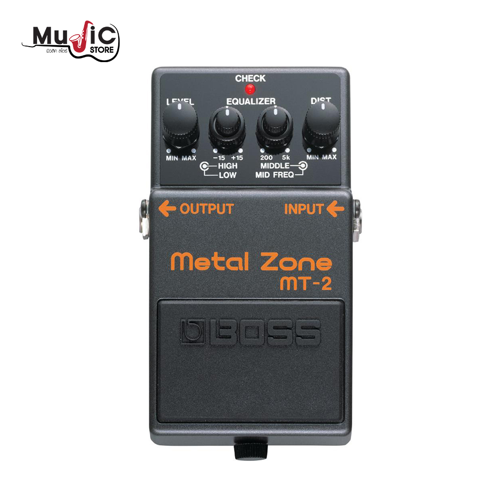 เอฟเฟคกีต้าร์ Boss MT-2 Metal Zone