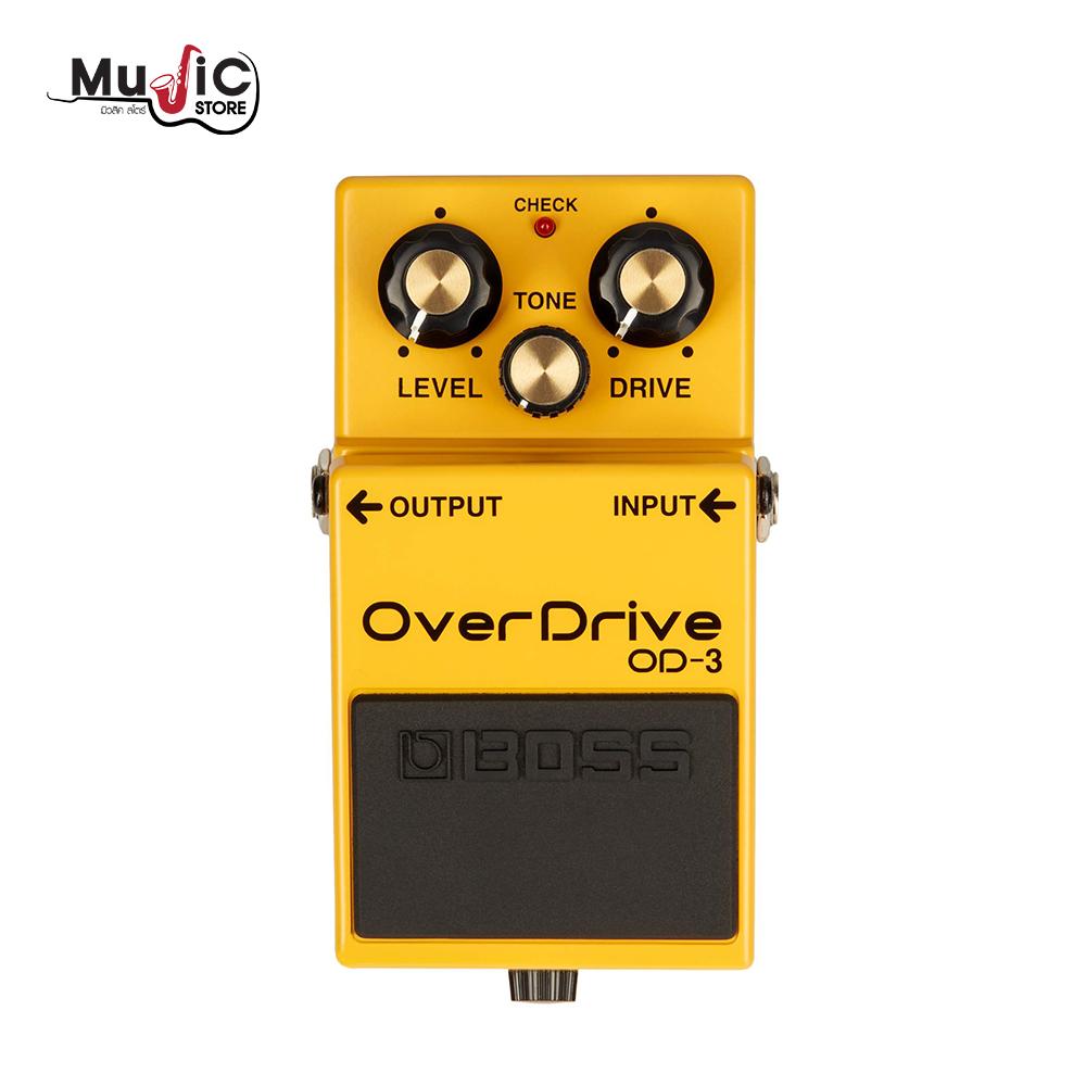 เอฟเฟคกีตาร์ Boss OD-3 OverDrive