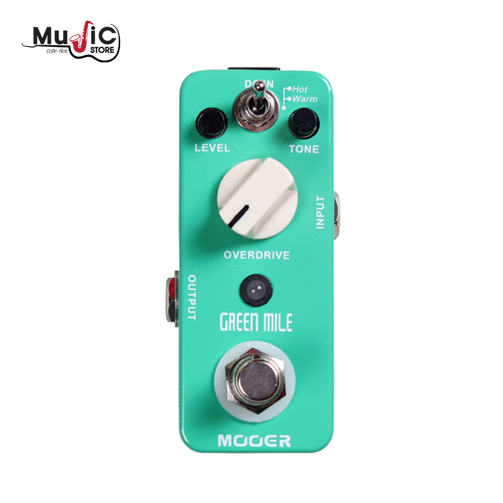 MOOER Green Mile Effects Pedal