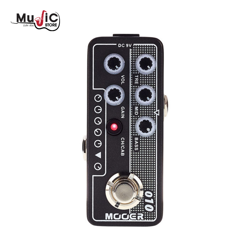 MOOER Micro Preamp 010 Two Stones Effects Pedal