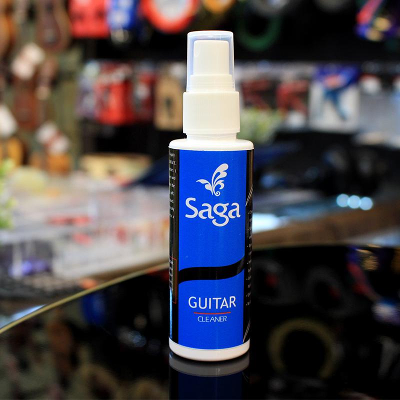 น้ำยาเช็ดบอดี้กีต้าร์ SAGA Guitar Polish (60 ml)