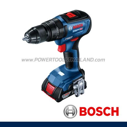 สว่านกระแทกไร้สาย 18V รุ่นไม่มีแปรงถ่าน GSB 18V-50 Professional BOSCH (06019H5101)