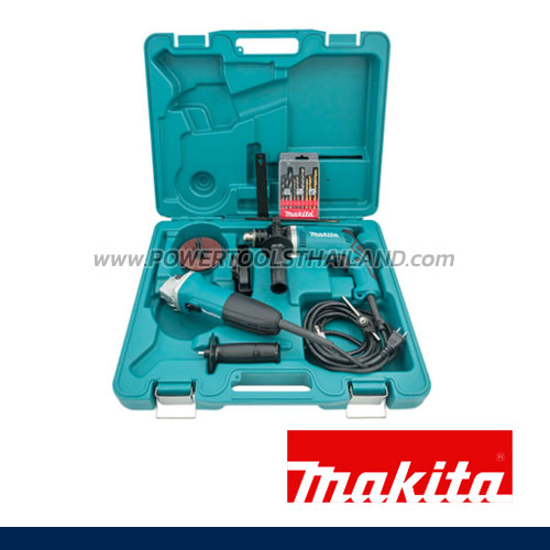 DK1151 เครื่องมือชุด HP1630+GA4030+ชุดดอก9+ใบเจียร์+ด้ามข้าง