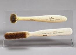 最早推广使用的牙刷