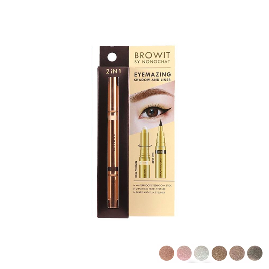 Browit by NongChat Eyemazing Shadow and Liner