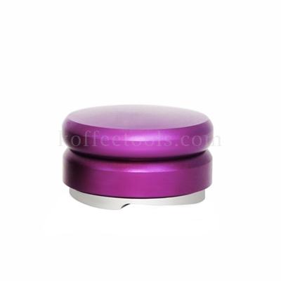 แทมเปอร์ที่กดผงกาแฟ มาการอง สีม่วง ใบพัด 3 แฉก 58 mm
