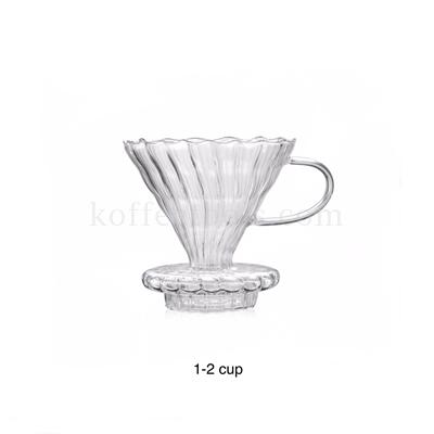 ดริปเปอร์แก้วโบโร มีฐานในตัว 1-2 cup
