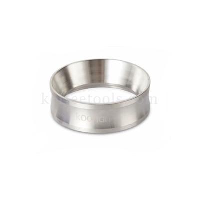 วงแหวนครอบด้ามชงกาแฟสแตนเลส 58 mm (หนัก)