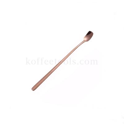 ช้อนสแตนเลสอเนกประสงค์ 17 cm สี rose gold