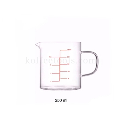 High-resistant measuring cup 250 ml
