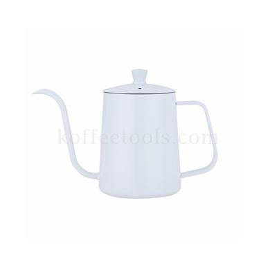 กาดริปกาแฟสแตนเลสสีขาว 600 ml