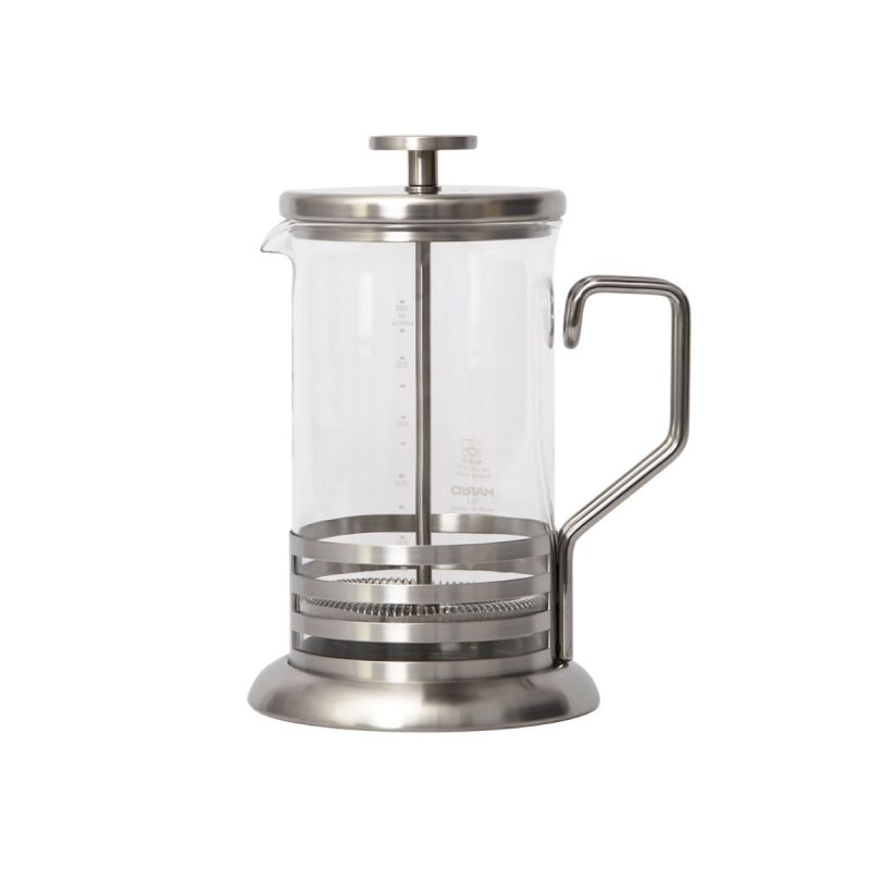 เฟรนช์เพรส 2 cups  300 ml / HARIO(025)Tea& Coffee Press Harior Bright 2 Cups