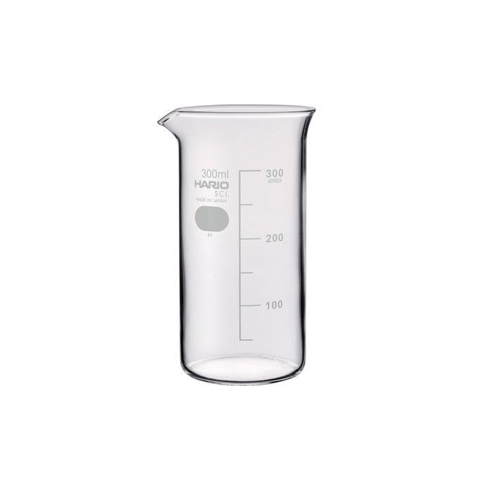 HARIO(082) Tall Beaker 500( With Measurements)/TB-500SCI