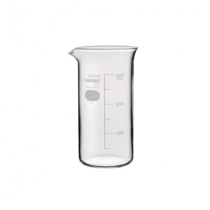 HARIO(081) Tall Beaker 300( With Measurements)/TB-300SCI