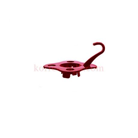 ฐานรองถ้วยดริป Funnel Bottom Bracket สีแดง Grade B