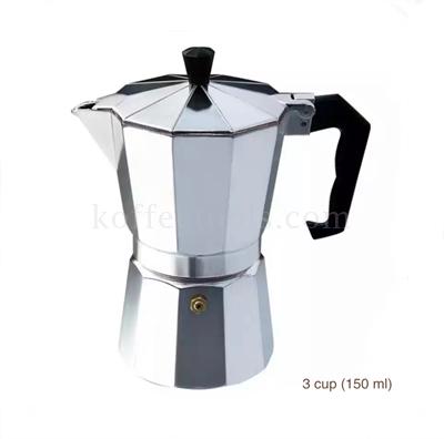 กาต้มกาแฟสด moka pot 3 cup (150 ml)