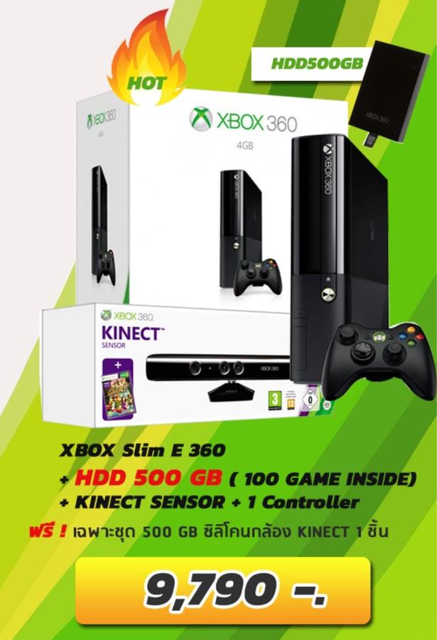 XBOX 360 SLIME E - 500GB