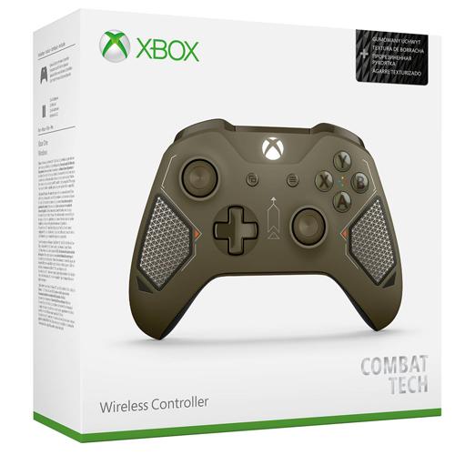 จอยไร้สาย Wireless XBOX ONE S / PC :  COMBAT TECH EDITION