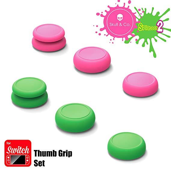 Skull & Co. Thumbgrip 9 (1 ชุด มี 3 คู่) มี 3 สีให้เลือก