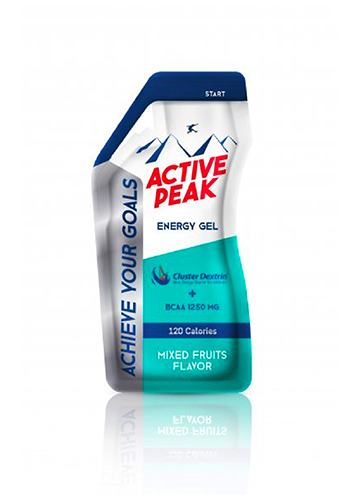 Active Peak Energy Gel - Mixed Fruit Flavor