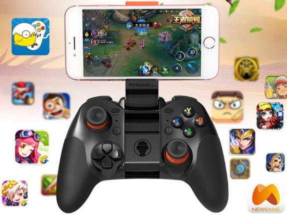 จอยเกม เล่นกับมือถือและ pc ระบบบลูทูธ รุ่นRKGAME
