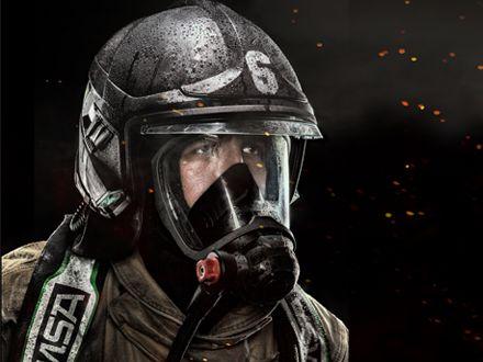 หมวกดับเพลิง MSA Cairns XF1