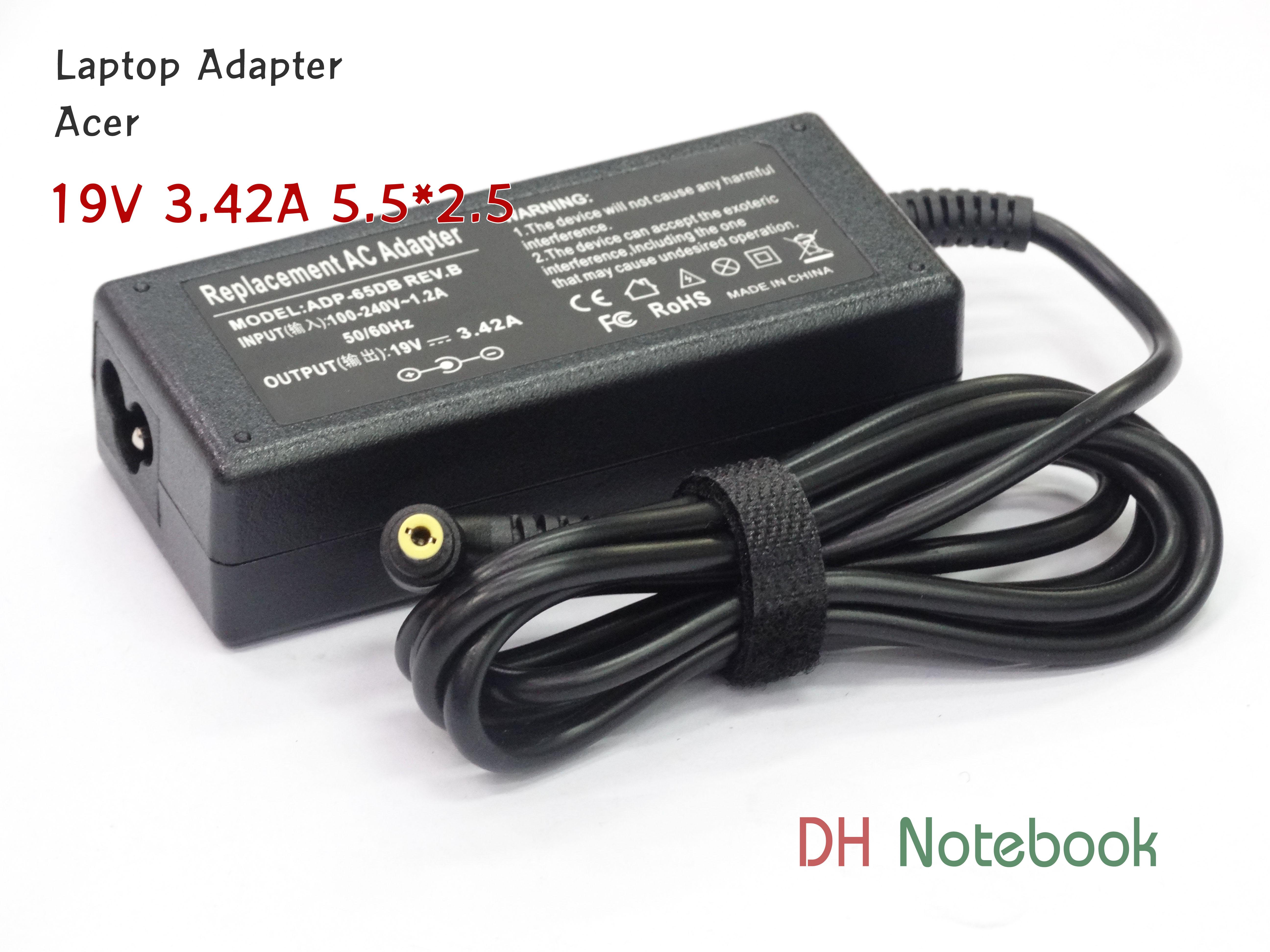 Adapter ACER 19V 3.42A 5.5*2.5