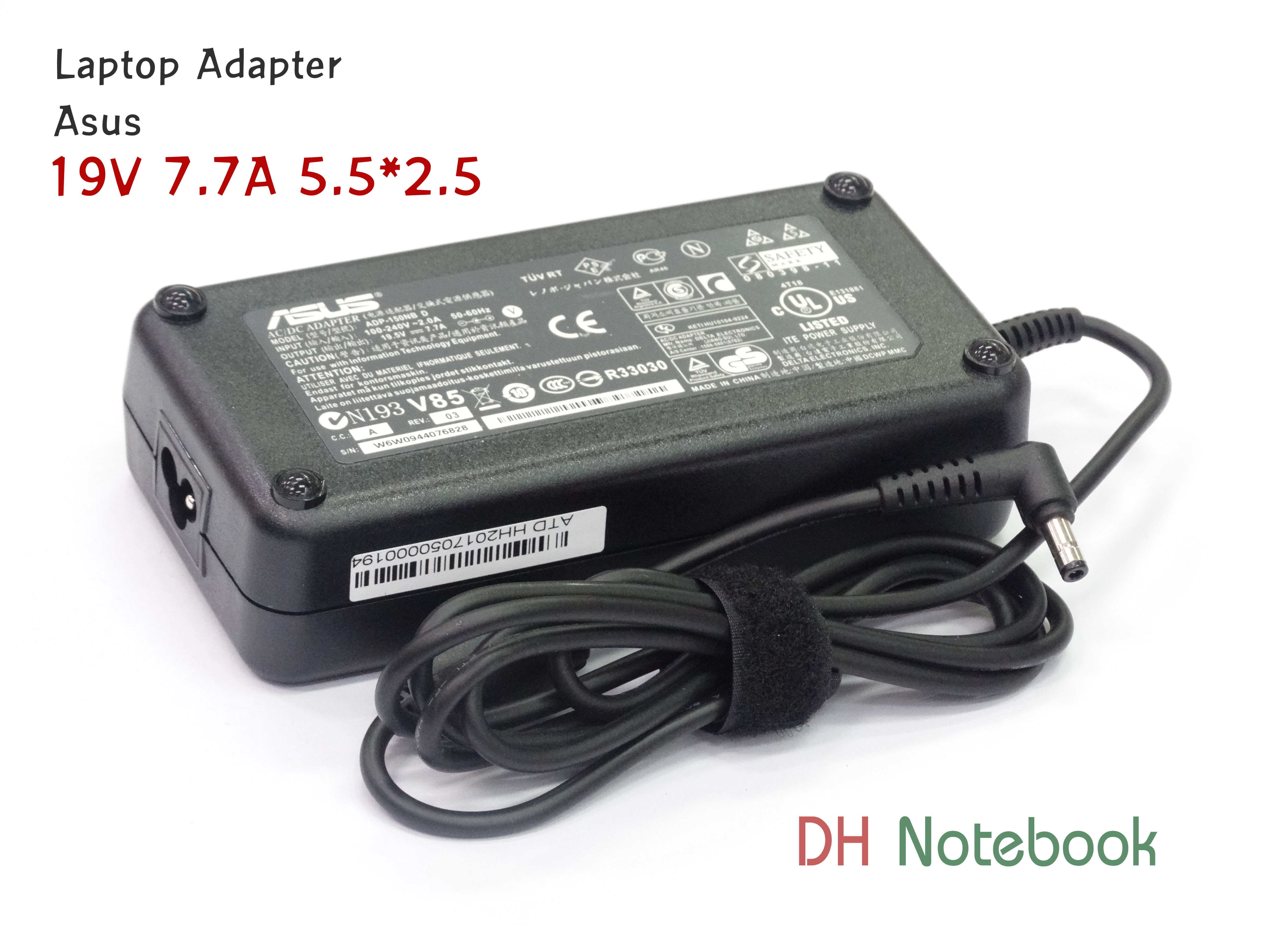 Adapter For Asus 19.5V 7.7A (5.5*2.5) ของแท้