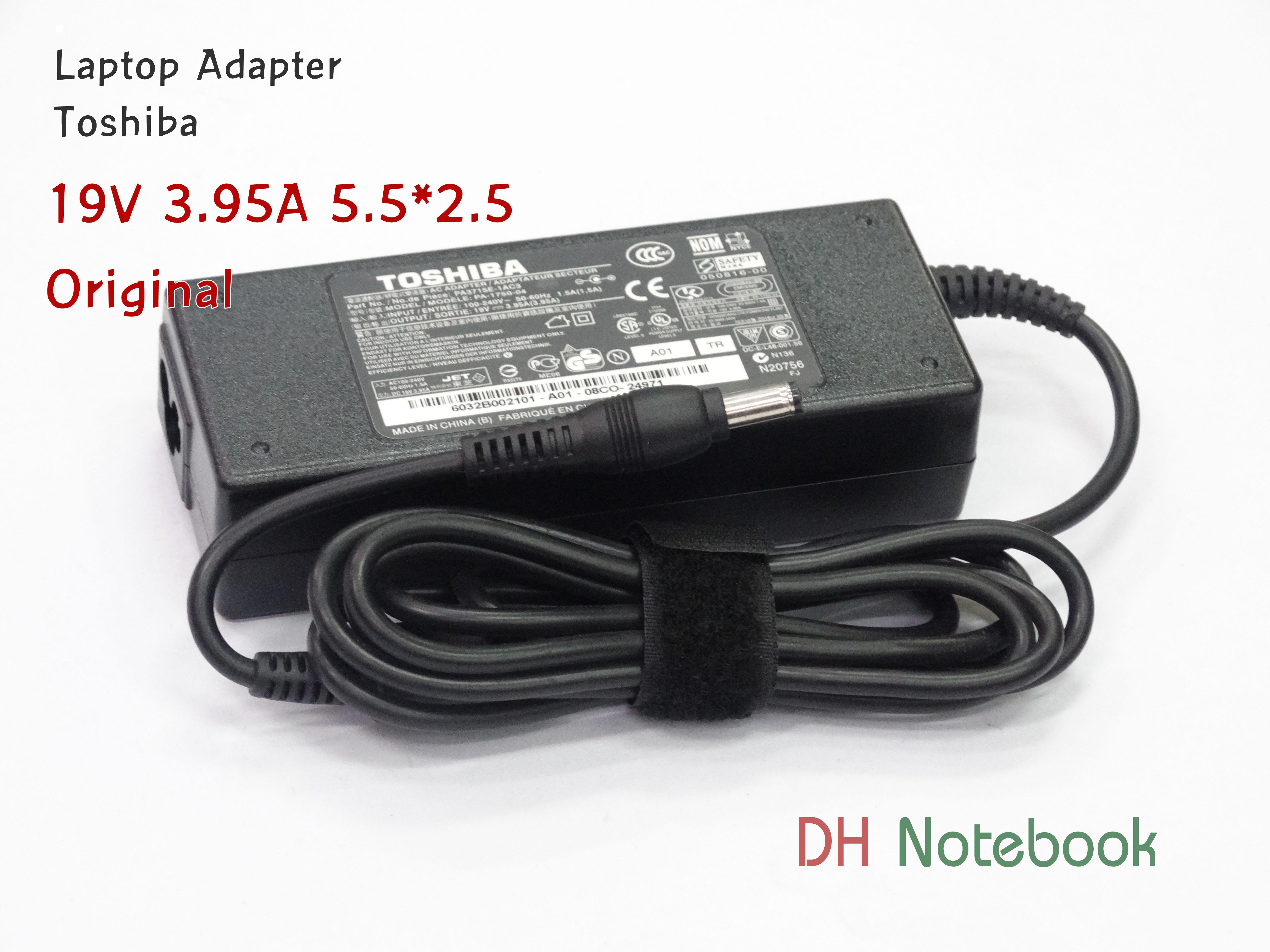 Adapter TOSHIBA 19V 3.95A (5.5*2.5) ของแท้