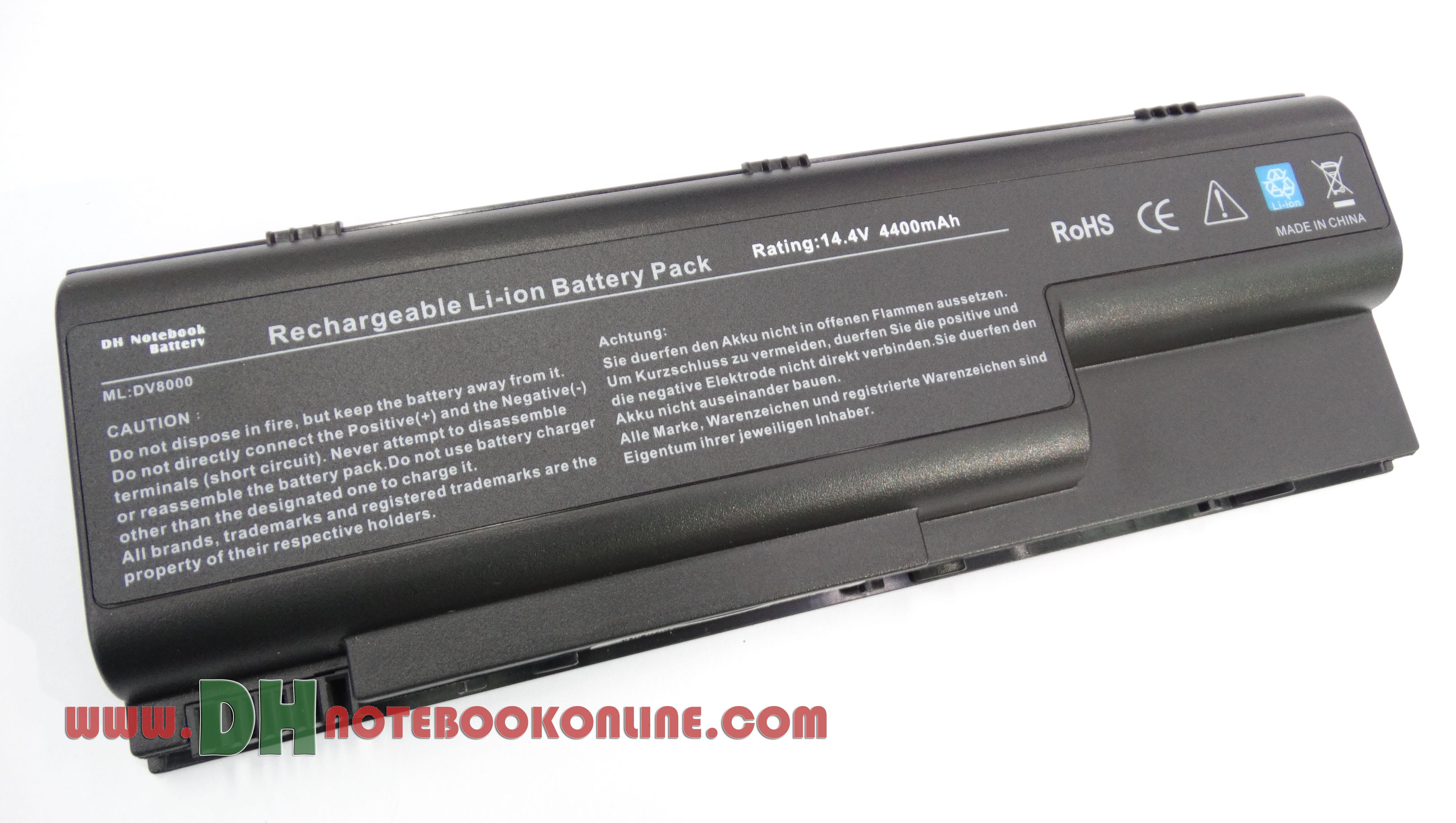 Battery Notebook HP DV8000
