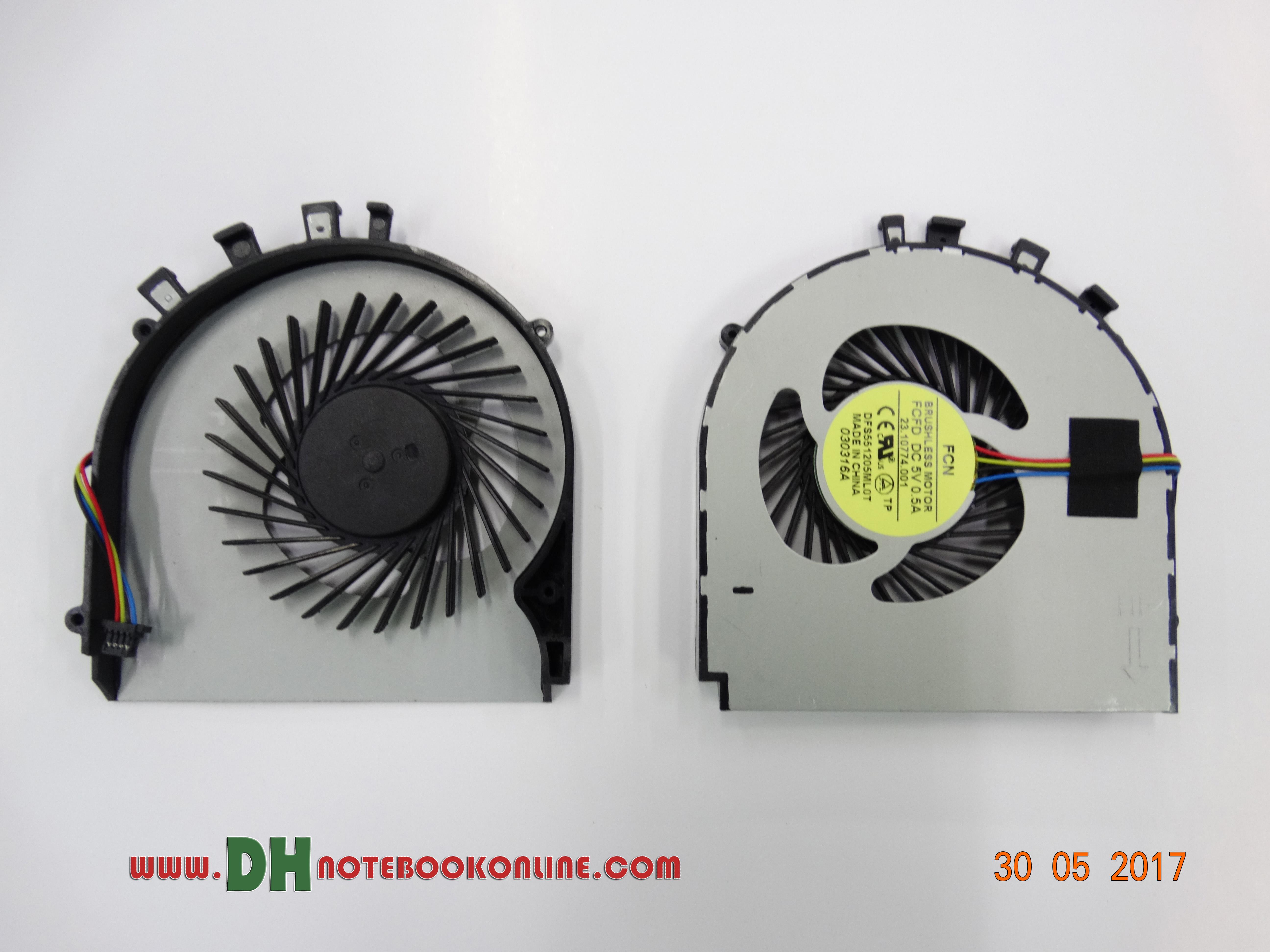 Asus K450 cooling fan