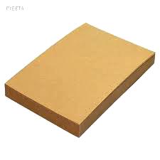 กระดาษคราพน้ำตาล 185 g (50 แผ่น)