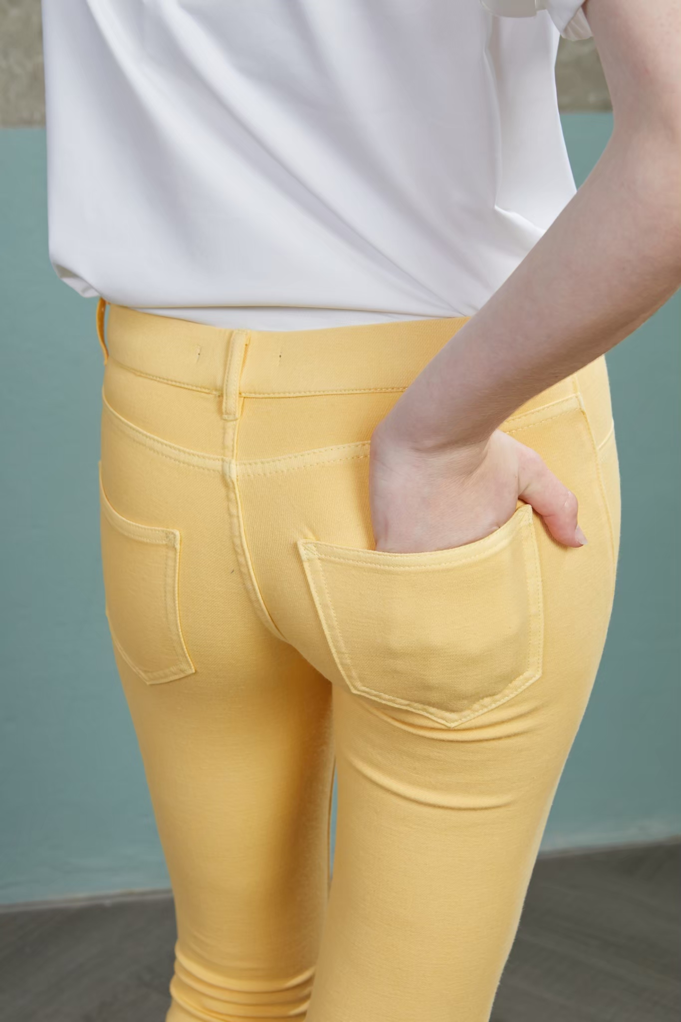 DM08 - Primrose Yellow Leggings - In Stock Now