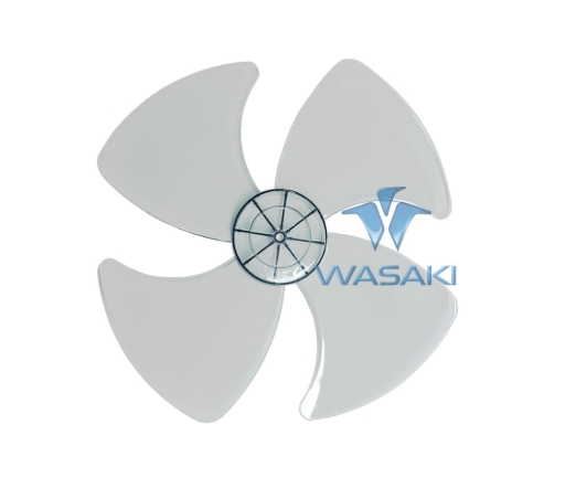 ใบพัดลม ใบใส ขนาด 16 นิ้ว ยี่ห้อ WASAKI