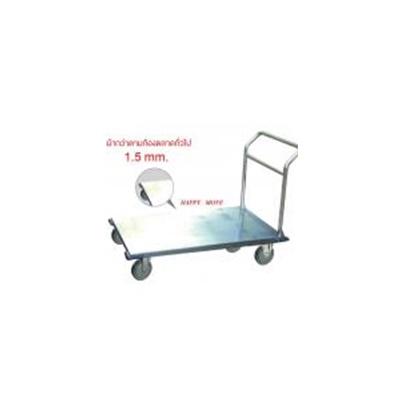 รถเข็นสแตนเลส 304  แฮนด์พับไม่ได้  รับน้ำหนักได้ 500 กก. Happy Move 52154