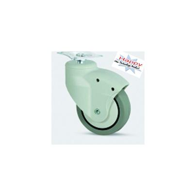 ลูกล้อยางซินเทธิคแป้นหมุนขนาด 3 นิ้ว รับน้ำหนัก 70-105 กก. รุ่น PJH ยี่ห้อ TENTE