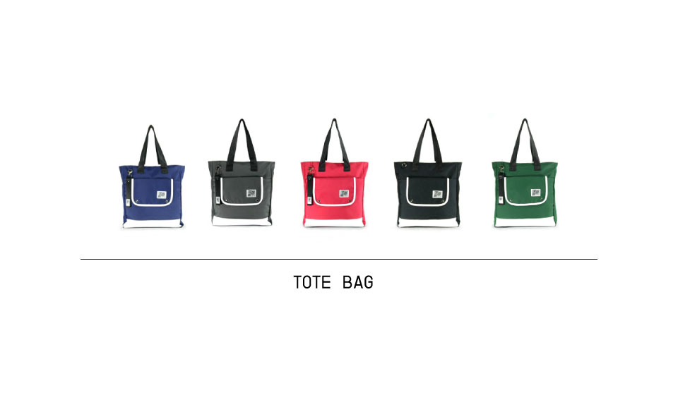 Cho-R Tote Bag becomes your own ideal bag.