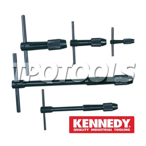 UK CHUCK TYPE TAP WRENCH SET 5-PCE KEN-518-9000K