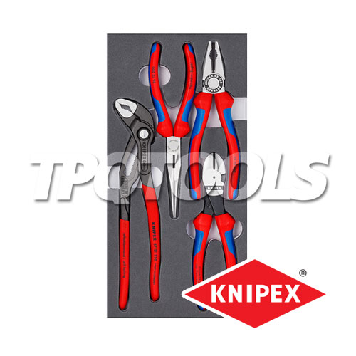 คีมชุด 4 ตัวชุด (ชุดคีมพื้นฐาน) 00 20 01 V15