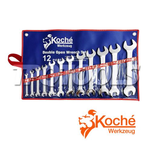 ชุดประแจปากตาย (มิล) KCH014S12