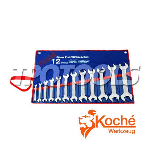 ชุดประแจปากตาย KCH014S6