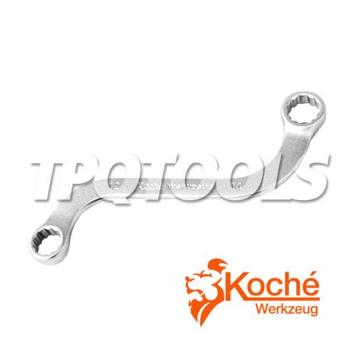 ประแจแหวนเอส (มิล) KCH0510x12, KCH0512x14